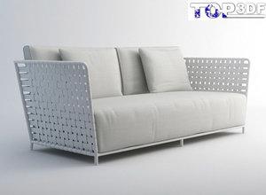 3ds max inout 801fw sofa