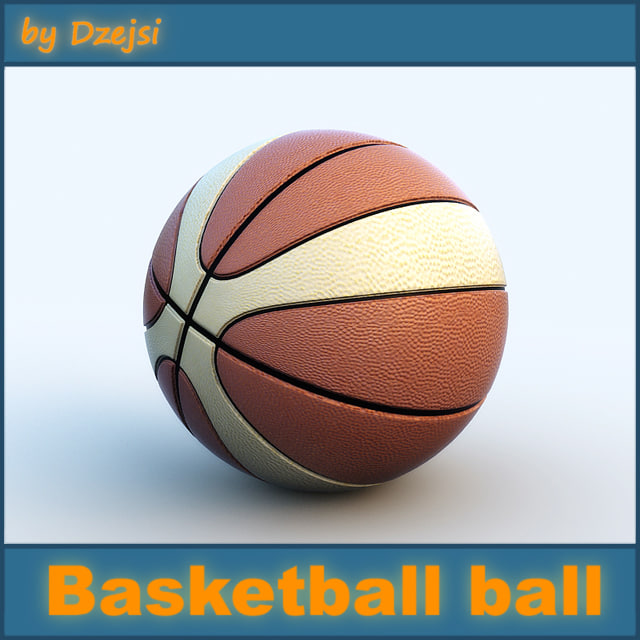 maya basketball ball