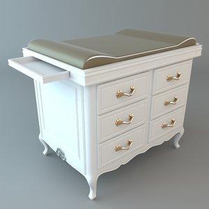 dresser details 3ds