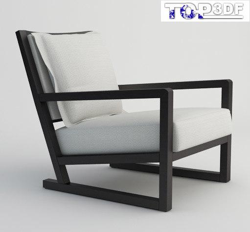 clio smpr armchair 3d max