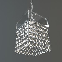 max chandelier hanging crystal
