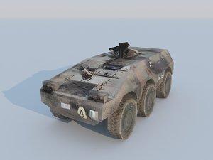 3d model puma vehicles