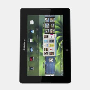 3d model blackberry playbook