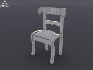 bone-inlay ram s 3d obj