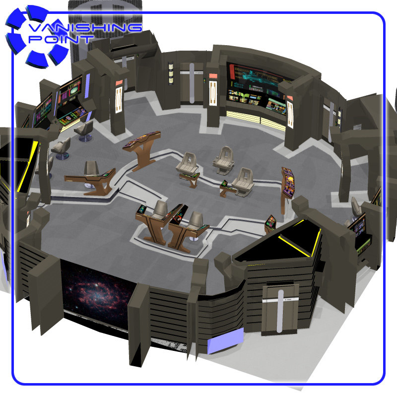 maya center starships bridge