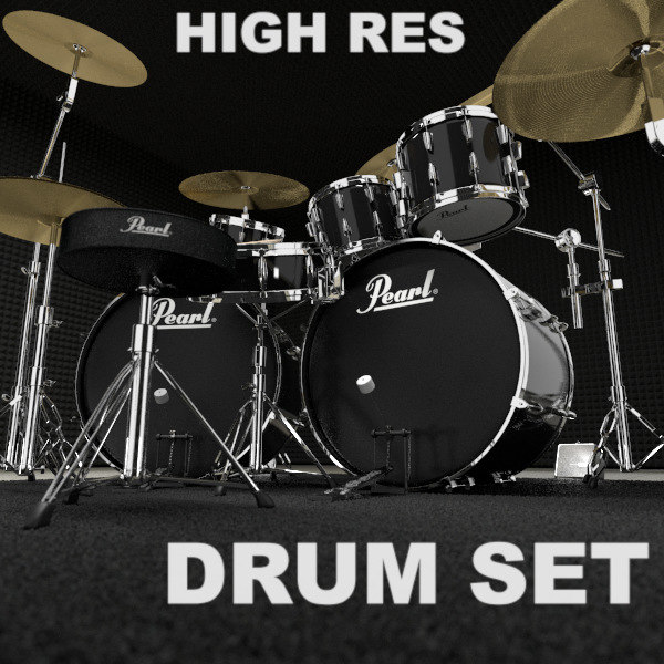 drum set 3ds