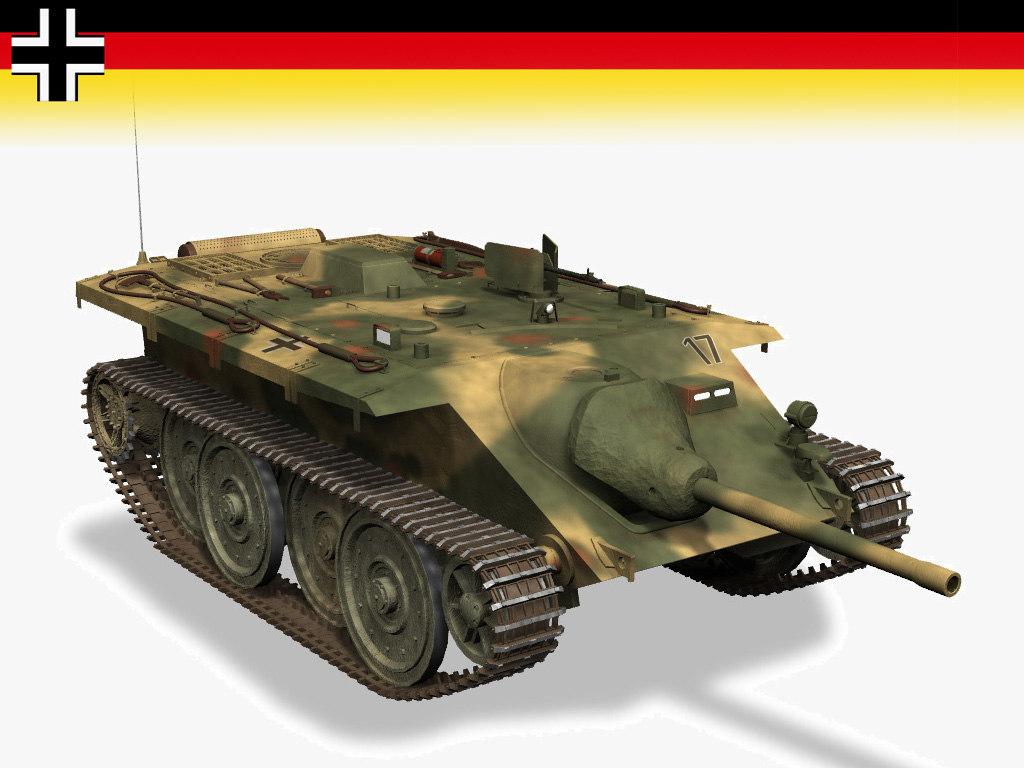 germany tanks e10 panzer 3d model