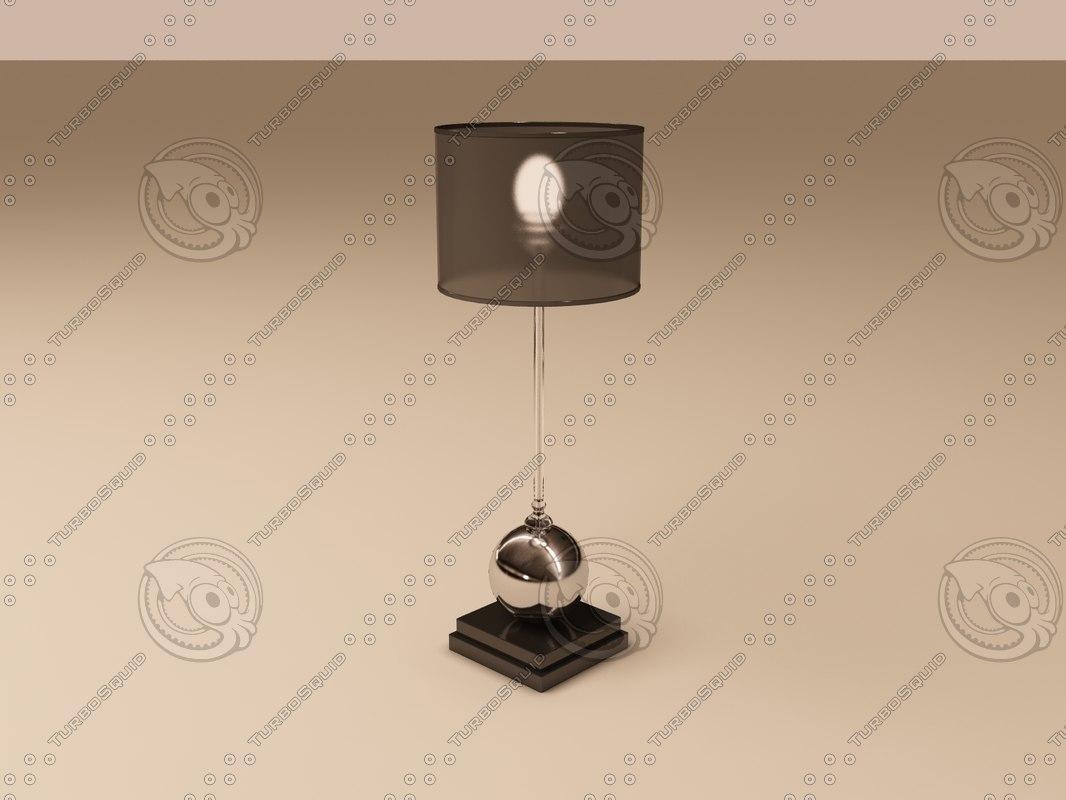 3d eichholtz lamp carnivale model