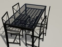 Ikea Eating Table with Chair