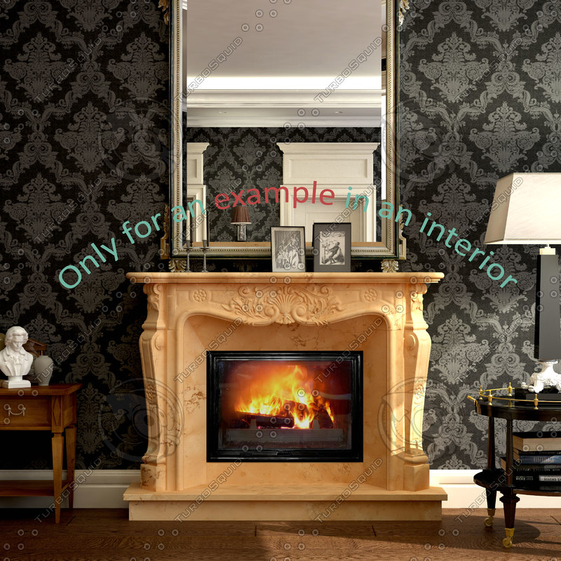 3ds max fireplace 11