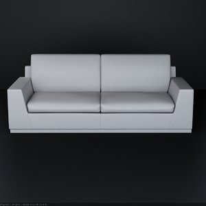 3dsmax kenzo island sofa