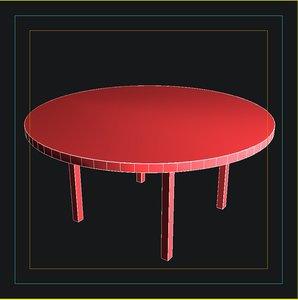 kenzo soho table 3d model