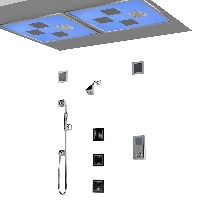 kohler lights at ceiling shower fuacet mixer water tile kit modern