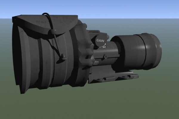 universal night sight 3d model