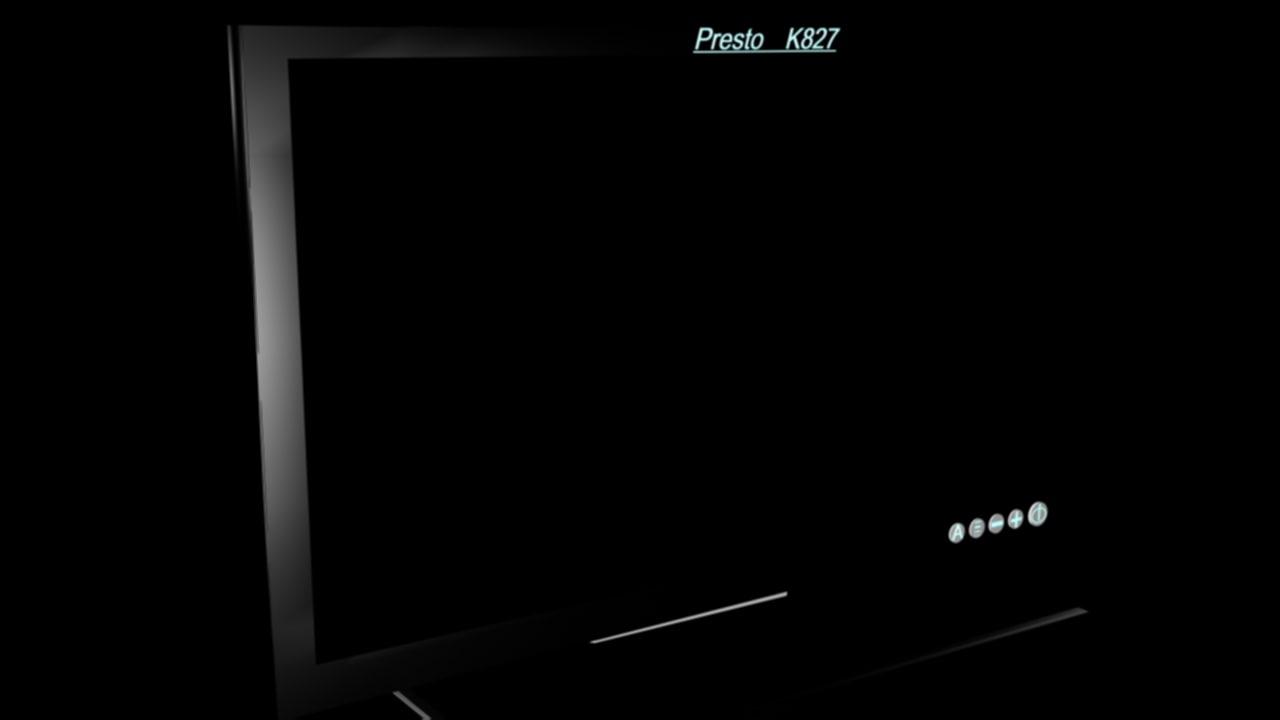 monitor presto 3d model