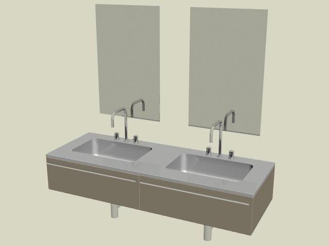 3dsmax bathroom set 02