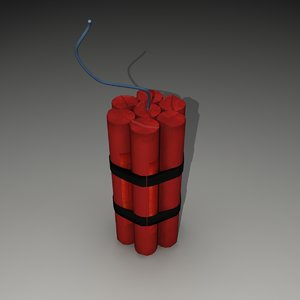 3d sticks dynamite