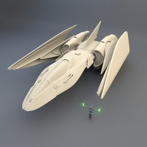 blender spaceship