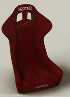 3dsmax sparco bucket seat