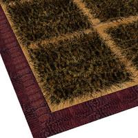 3d carpet details proxy model