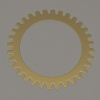 clock gear wheel x