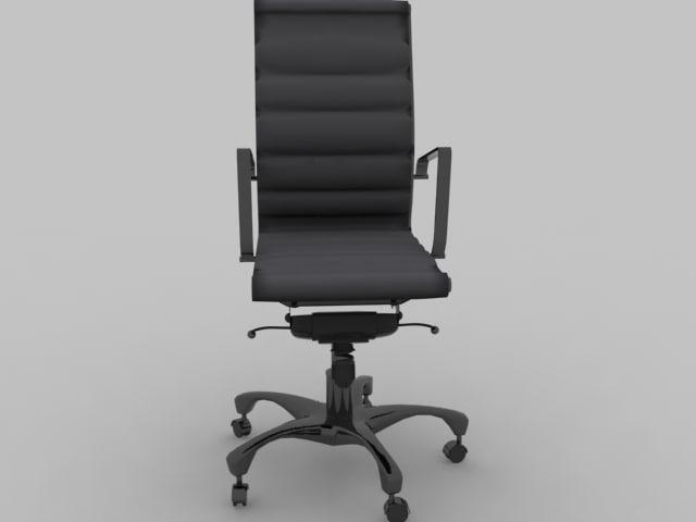computer chair obj