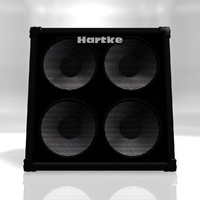hartke bass cabinet 3d 3ds