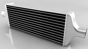 intercooler cooler 3d c4d