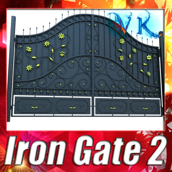 3ds max iron gate 02 resolution
