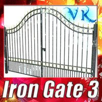 iron gate 03 resolution 3d 3ds