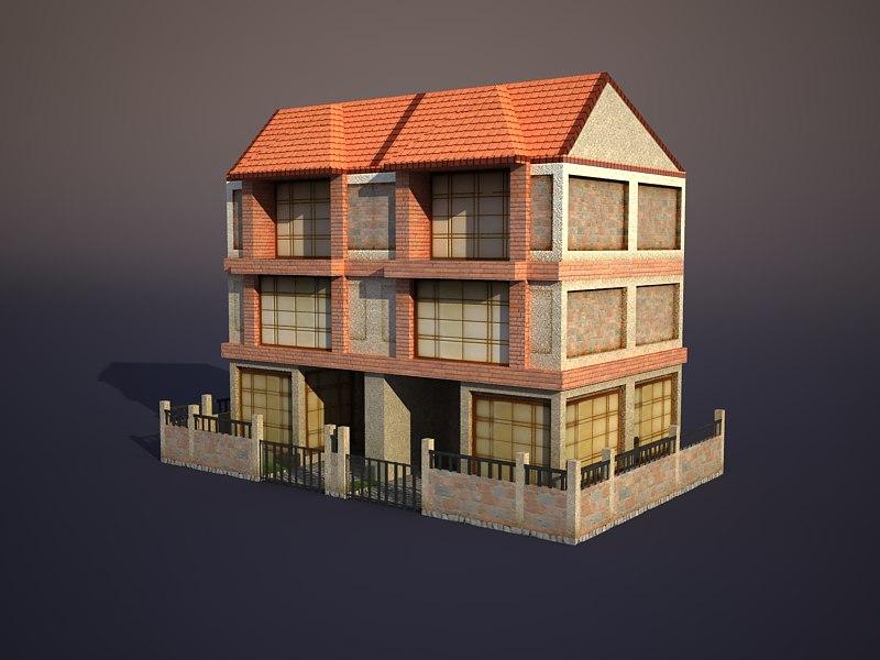3d max house apartment