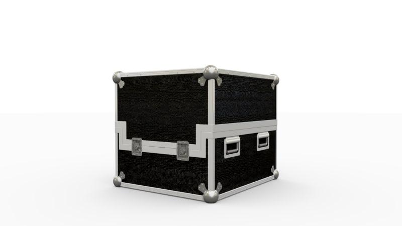 3d obj flightcase case