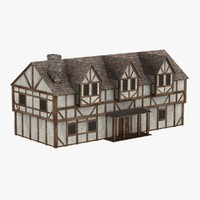 medieval manor 3d max