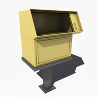 newspaper dispenser max