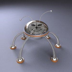 max alarm clock robot