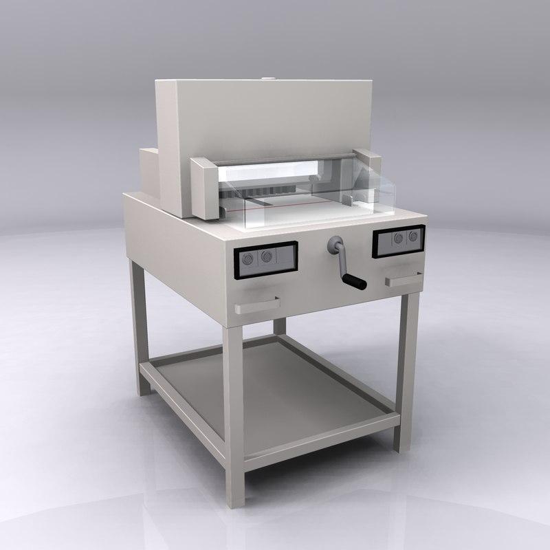 ideal cutting machine 3d 3ds