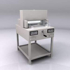ideal cutting machine 3d 3ds
