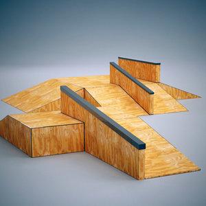 skatepark ramp 3ds