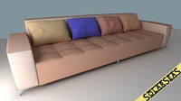 Modern Sofa Pastel Colors