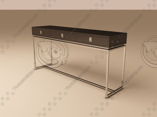 3d model eichholtz table console la
