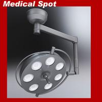 3d medical spot model