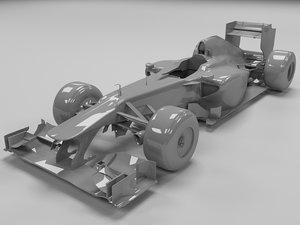 3ds max 2011 mercedes gp w02