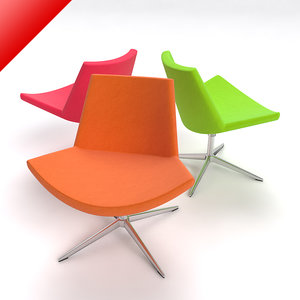 chair sofa couch 3d model