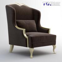 3d model classical sofa