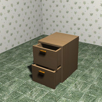 file cabinet 3d 3ds