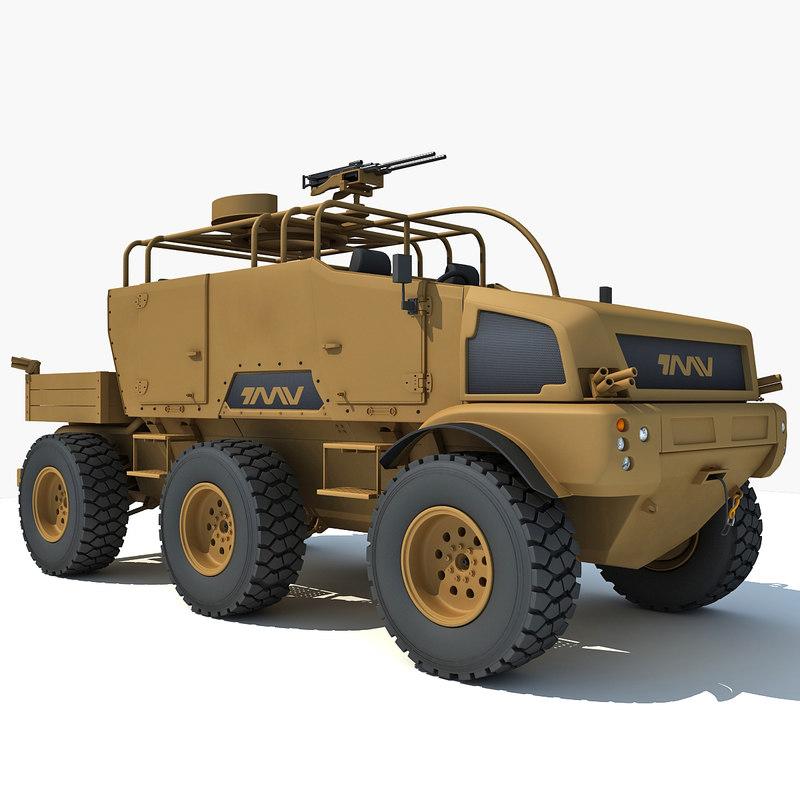 british military vehicle tmv max