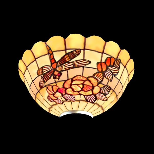 3d model sconce stained glass