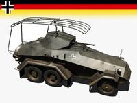 sd kfz 232 3d model