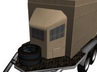 3ds trailer module military