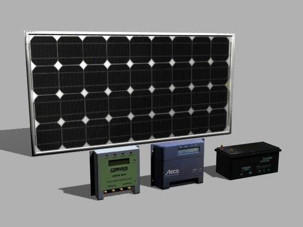 3d photovoltaic solar panel